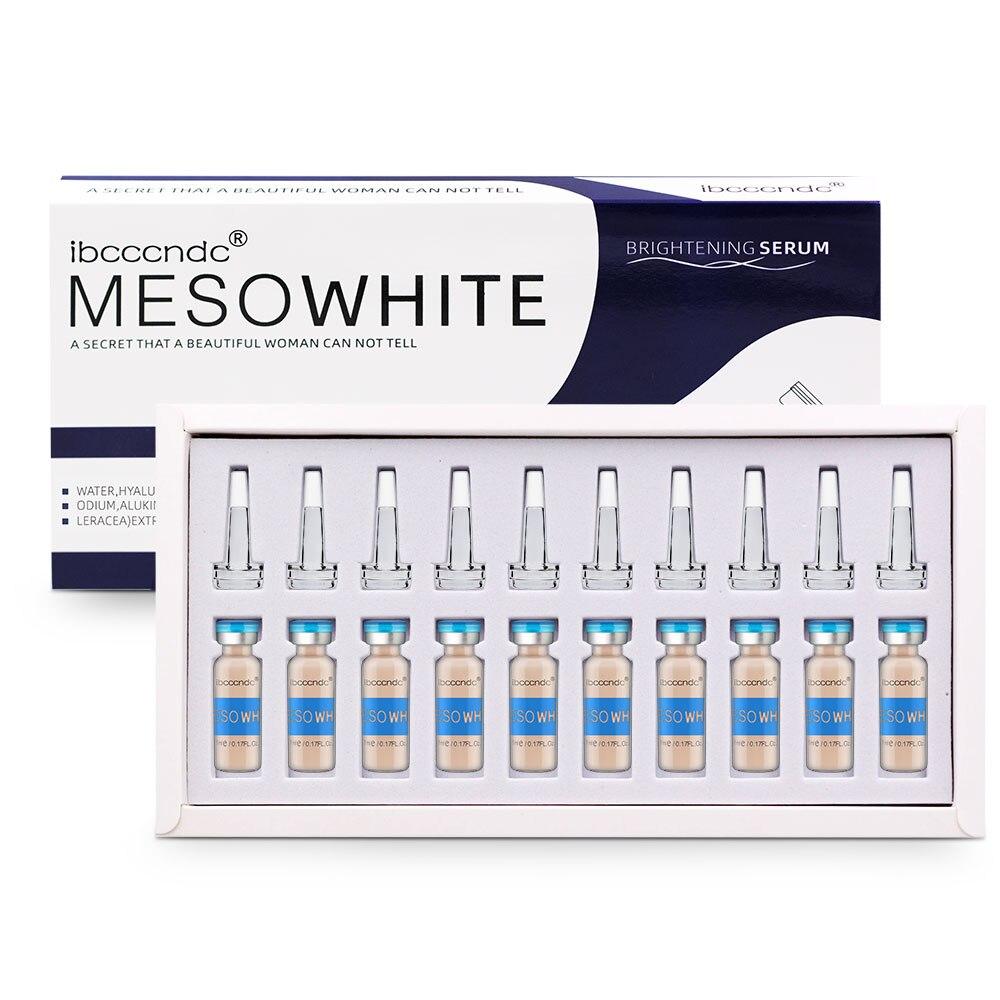 10pcs/set Korean 5ml Makeup BB Glow Skin Cream Meso White Brightening Serum Natural Skin Whiteing Concealer Make Up Foundation