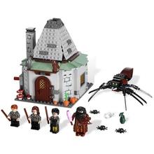 2019 новый фильм Гарри Поттер наборы для ухода за кожей 461 шт. Хагрид хижина Совместимость Legoing 4738 модель здания Конструкторы кирпичи игрушечные лош