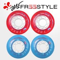 8 Pcs Lot 85A Original FreeStyle 72mm 76mm 80mm Street FSK Slalom Slide Inline Skates Wheel