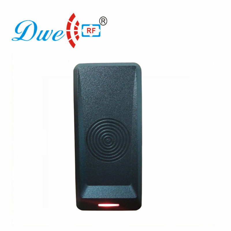 DWE CC RF Rfid Proximity Smart Reader 125khz Wiegand Card Reader Waterproof For Access Control System D801A dwe cc rf apartment system wiegand rfid access control card reader electronic tag reader black key proximity reader