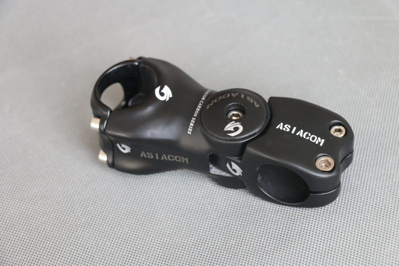 New ASIACOM Full Carbon Adjustable Bicycle Stems 0 Degree - 45 Degree MTB Road Bike Stem Parts 31.8*90/100/110/120/130MMNew ASIACOM Full Carbon Adjustable Bicycle Stems 0 Degree - 45 Degree MTB Road Bike Stem Parts 31.8*90/100/110/120/130MM