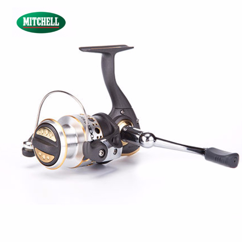 100% Original Mitchell Brand Fishing Reel AV-P1000/2000/3000 Molinete Reel 9+1BB Spinning Reel Gear Ratio 5.2:1 nunatak original 2017 baitcasting fishing reel t3 mx 1016sh 5 0kg 6 1bb 7 1 1 right hand casting fishing reels saltwater wheel
