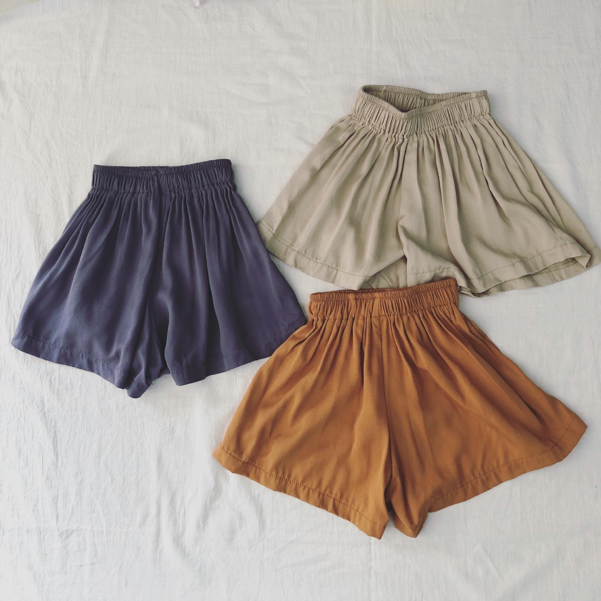 Spodnie letnie Szerokie spodnie dla dzieci Spodnie dla dzieci Ubrania - Ubrania dziecięce - Zdjęcie 1