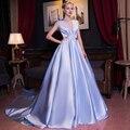 luxury light blue court ball gown low V neck beading medieval Renaissance Gown queen Dress Victoria/Marie Antoinette  Belle
