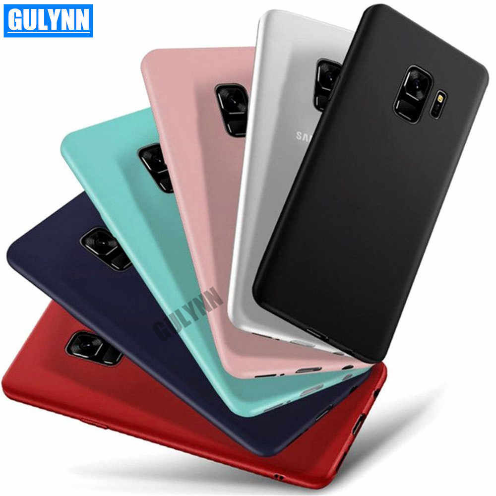 Candy Matte Case For Samsung A6 A8 S9 S8 Plus J3 J4 J5 J6 J7 J8 A3 A5 A7 2017 2018 Luxruy High Quality Thin Soft TPU Full Cases