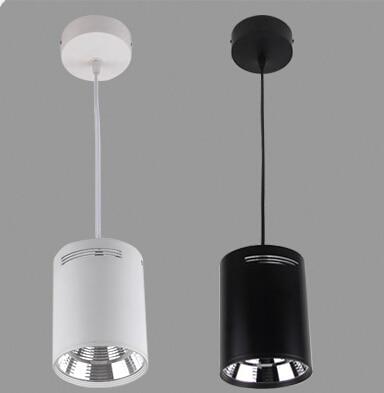 چراغ آویز سقف ، شل: سفید یا سیاه ؛ نور: گرم گرم سفید / سفید / سرد سفید