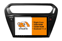 Eight Core Android 7 1 2 2GB RAM OTOJETA Car Dvd FOR Citroen Elysee 2013 Stereo