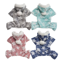 Купить с кэшбэком Pet Hoodie Sweater Dog Pajamas Soft And Cozy Pet Clothes For Small Dogs Puppy Jumpsuit For Chihuahua Pomeranian Poodle