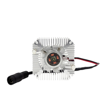 [MingBen] 1Set High quality 55x55x12mm Radiator With Fan Aluminum Heatsink Extruded Profile for Electronic Heat Dissipation