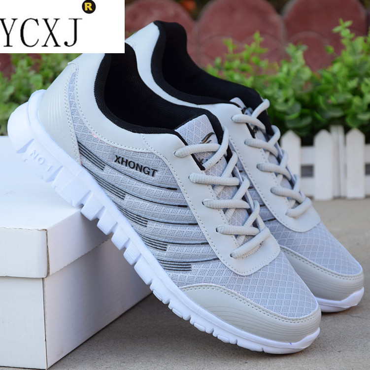 New Hot Lace-Up Sport Shoes Men s Super Light Sneakers Outdoor ... 93a90786c