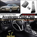 Car Accelerator Pedal Pad / Cover of Factory Sport Racing Design For Mercedes Benz SLK MB R172 AT Foot Pedal Throttle