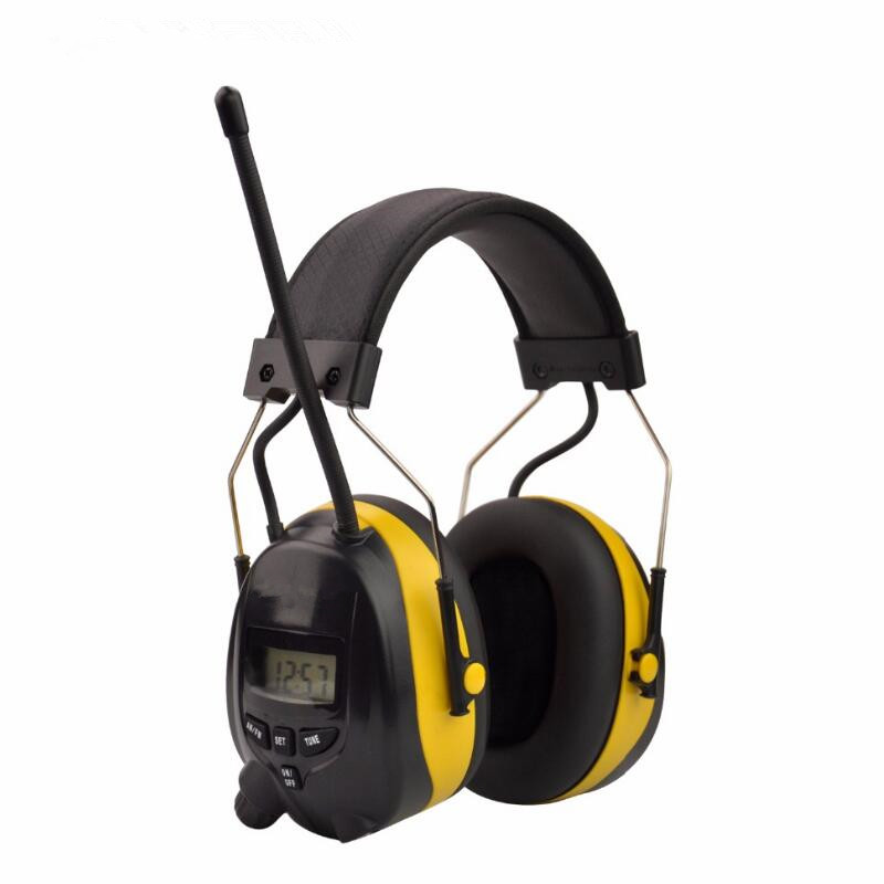 FM/AM Radio Anti-noise Earmuffs Hunting Electronic Tactical Earmuff Shooting Ear Protector Hearing Protecting Earmuffs Headphone amzdeal anti noise impact sport hunting electronic tactical earmuff ear protector headphone hearing protection headphone gift