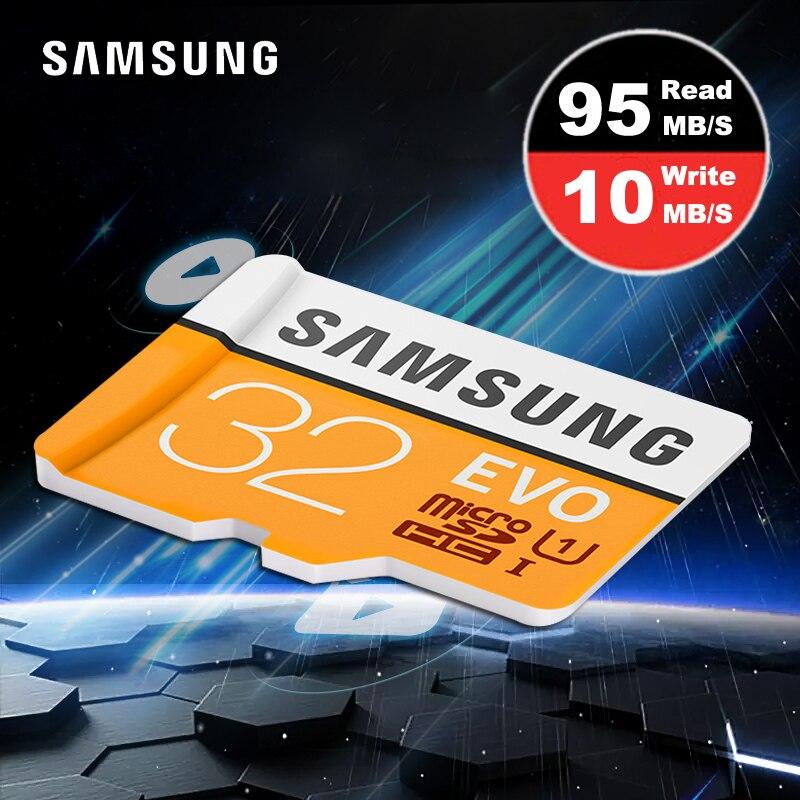 Aliexpress.com : Buy SAMSUNG EVO Micro SD 32 gb Memory Card Class 10 UHS I micro sd kaart Trans