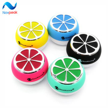 10pcs/lot Lemon form Moveable Mini Bluetooth Audio system Wi-fi Good Arms Free Speaker With FM Radio Help SD Card