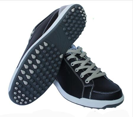 2017 LYNX New Mens Golf Shoes Light & Breathable waterproof non-spikes anti-skid men microfiber leather sneakers sports Shoes цена