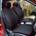 Transpirable Cubierta de Asiento de Coche especial Para Toyota Corolla Camry Rav4 Prius Auris Avensis Yalis Corredor negro/rojo del coche accesorios palo