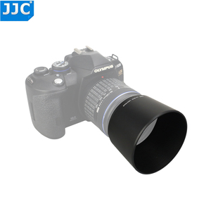 Image 1 - JJC Reversible Lens Hood Shade For OLYMPUS M.ZUIKO  DIGITAL ED 40 150mm 1:4.0 5.6 R Repaces Olympus  LH 61D Black Silver