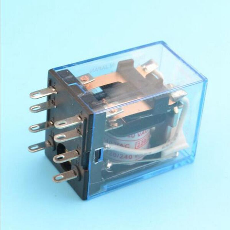 Wiring Hh52p Relay 8 Pins 8 Pin Relay Plug In 8 Pin Cube Relay