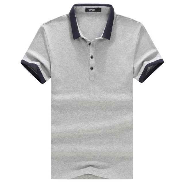Solid Polo Shirt 2016 New Summer Short Sleeve Polo Homme Simple Slim Fit Turn Down Collar Men Polo Shirt Plus Size 6XL 5XL-M