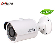 Free shipping 300 Mp CMOS Full HD Network camera Small IR-Bullet Camera HFW4300S Support POE cctv cam AGC AGC BLC H.264 MJPEG