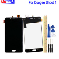 Mcdark For Doogee Shoot 1 LCD Display And Touch Screen Digitizer Assembly Replacement Tools And Adhesive