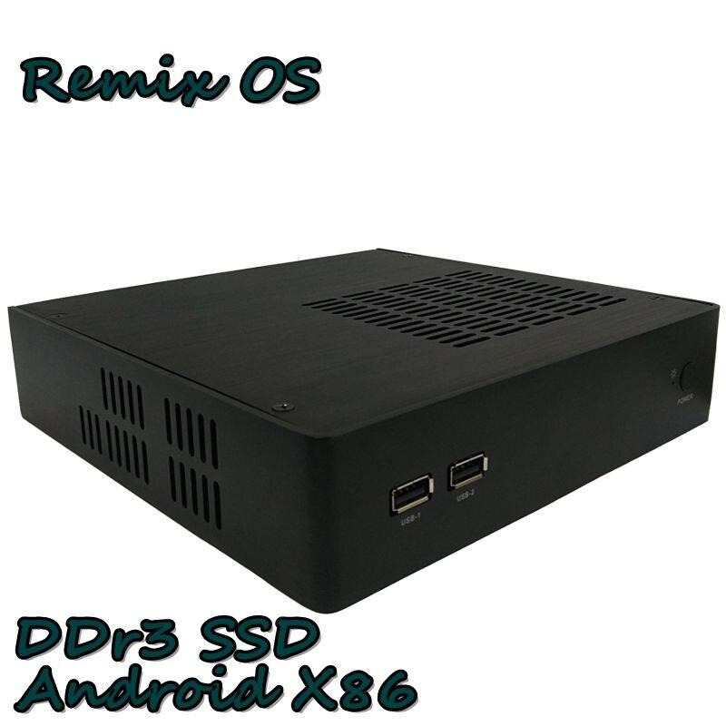Business POS Office  Mini PC TV BOX Built In DDR3 SSD Multiple Models  Remix OS  Kodi HTPC  Wifi HDMI VGA