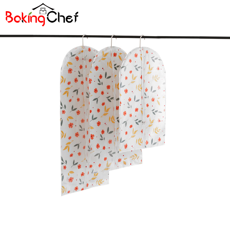 BAKINGCHEF Cloth Dust Covers Suit Coat Storage Protector Container Wardrobe  Closet Hanging Organizer Gear Accessories Supplies In Clothing Covers From  Home ...