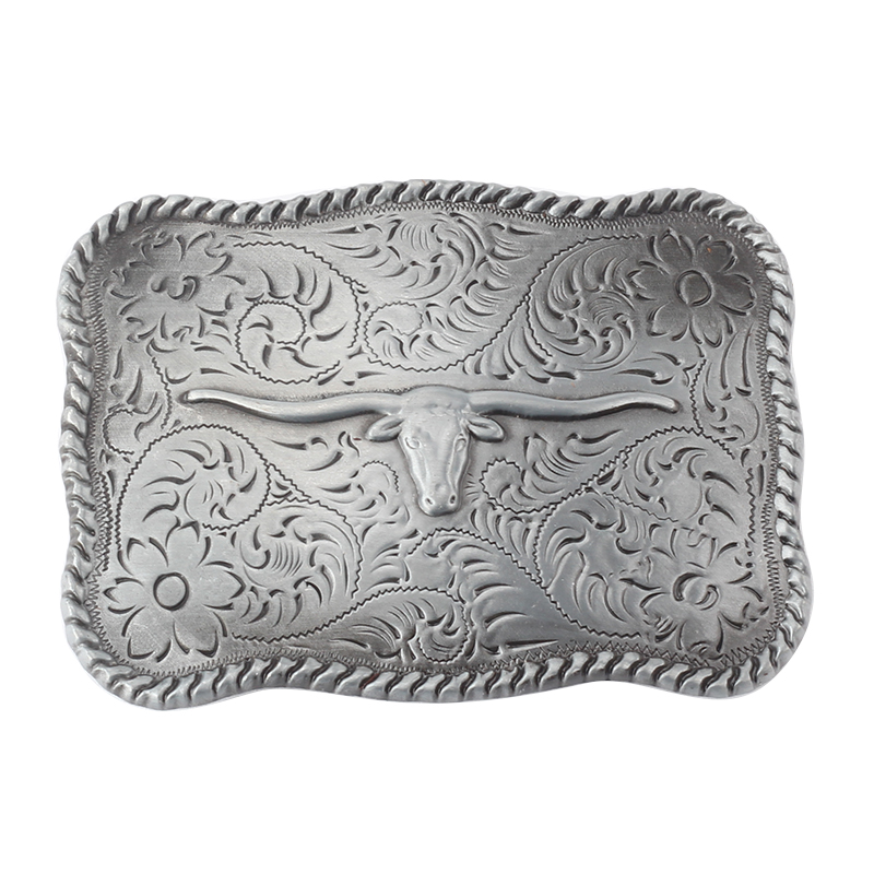 Tauren Zinc Alloy Cowboy Belt Buckle