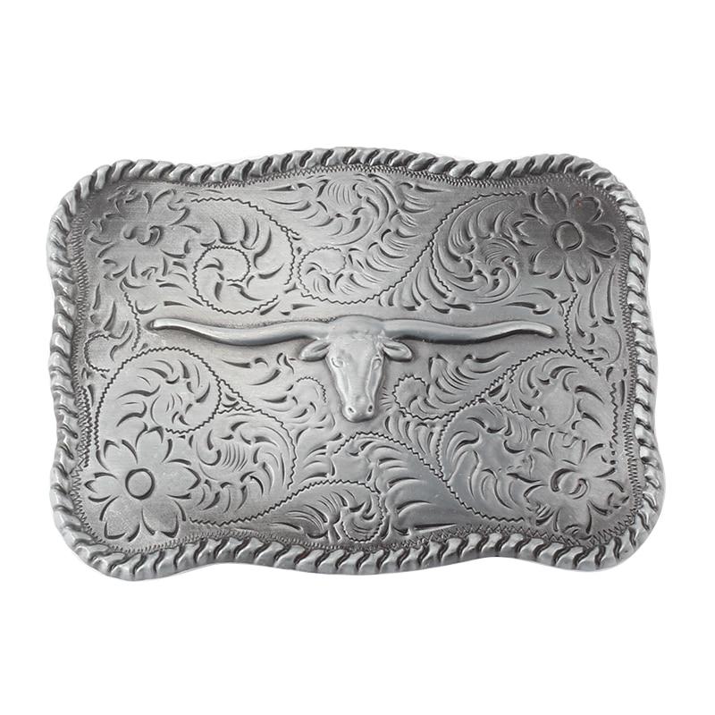 Tauren Zinc Alloy Cowboy Belt Buckle