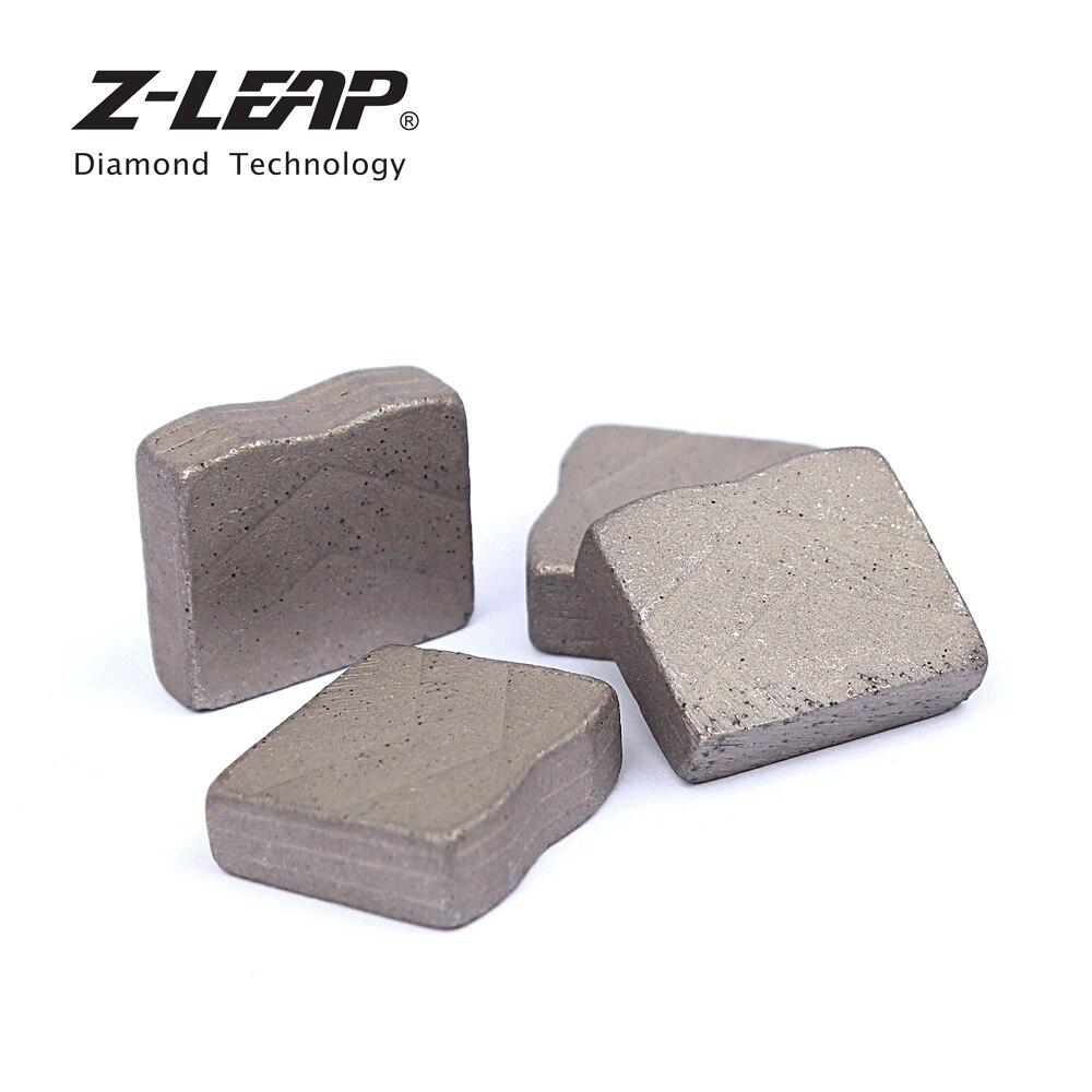 Z LEAP 24pcs Diamond Segments For Big Saw Blade Diamond Cutting Teeths For Granite Marble Stone