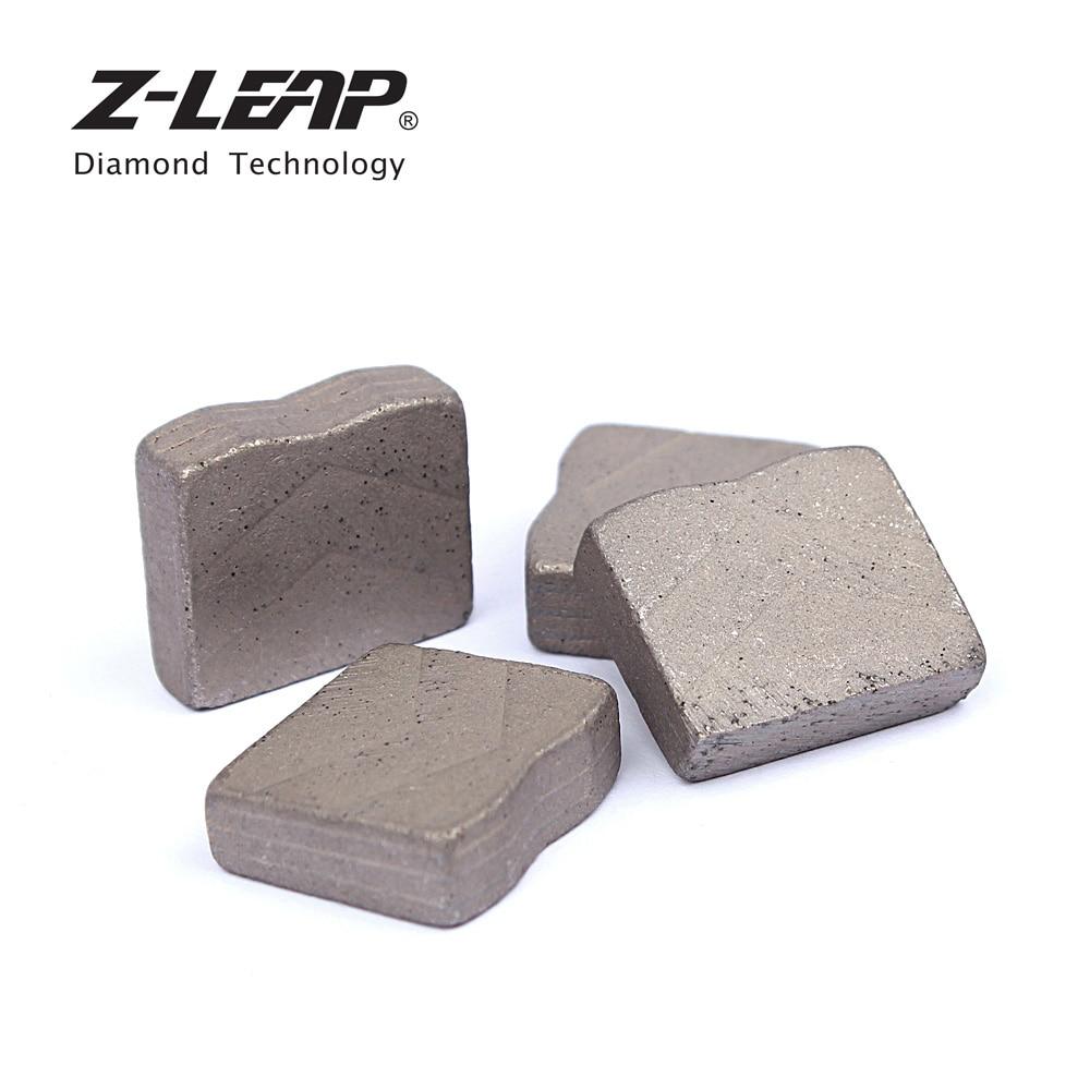 Z-LEAP 24 pièces Segments De Diamant Pour La Grande Lame De Scie Diamant De Coupe Zoub'yami Pour Granit Marbre Pierre Outil Abrasif