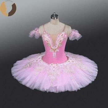 Детские профессиональные Балетные костюмы Aquarius, балетные пачки пачки, балетные костюмы Спящей Красавицы, розовые пачки с сахарной сливой, с