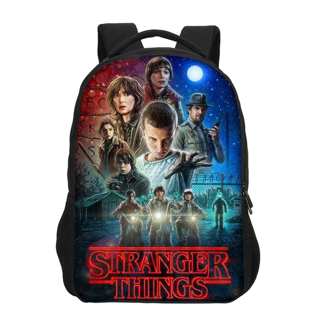 Collection Sac Scolaire enfants Stranger Things