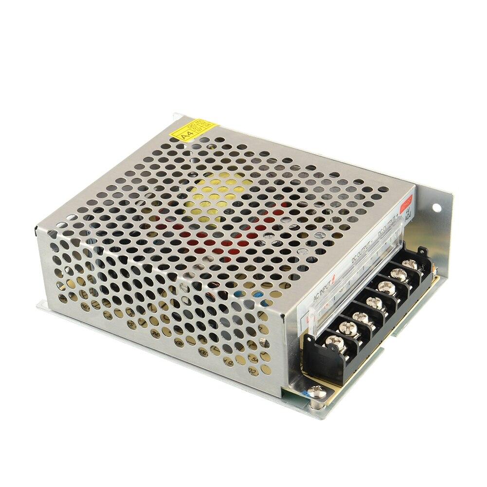 все цены на Universal 24V 5A 120W Regulated Switching Switch Power Supply Transformer Fit for LED Strip Light AC-DC New онлайн