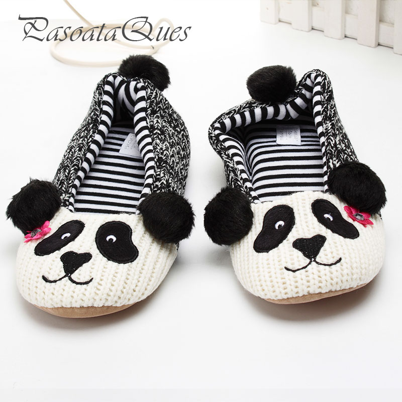 New Cute Animal Cartoon Pattern Women Slippers House Indoor Comfortable Spring Women Shoes Pasoataques Brand