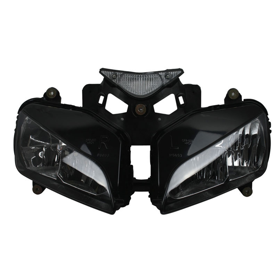 ФОТО Motorcycle Clear Lens Headlight Headlamp Case For Honda CBR1000RR  2004 2005 2006 2007 Front Head Light Assembly Housing