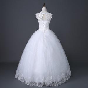 Image 5 - Desinger Simple Lace Wedding Dresses Custom made Cheap Bridal Gowns Vestido De Noiva Vintage Under 100
