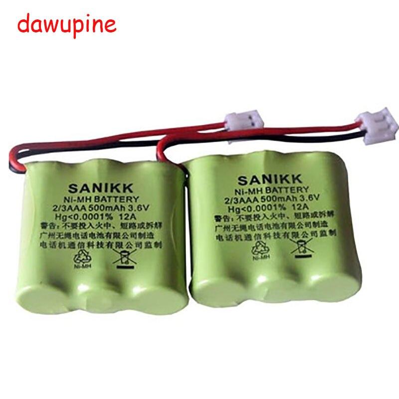 dawupine 3.6V 500MAH NI-MH Battery For SIEMENS W10 W12 A49 A48 A16 HWCD81583/6/8/9 Philips 6815 6816 681 682 Cordless Phone