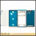Задняя крышка батарейного отсека + передняя панель + средняя рамка для Sony Xperia Z1 L39H полное полный жилищно оригинал