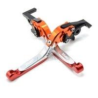 CNC Motorcycle Brake Levers Adjustable Folding Extensible Clutch For Honda CBF600 SA 2010 2011 2012 2013