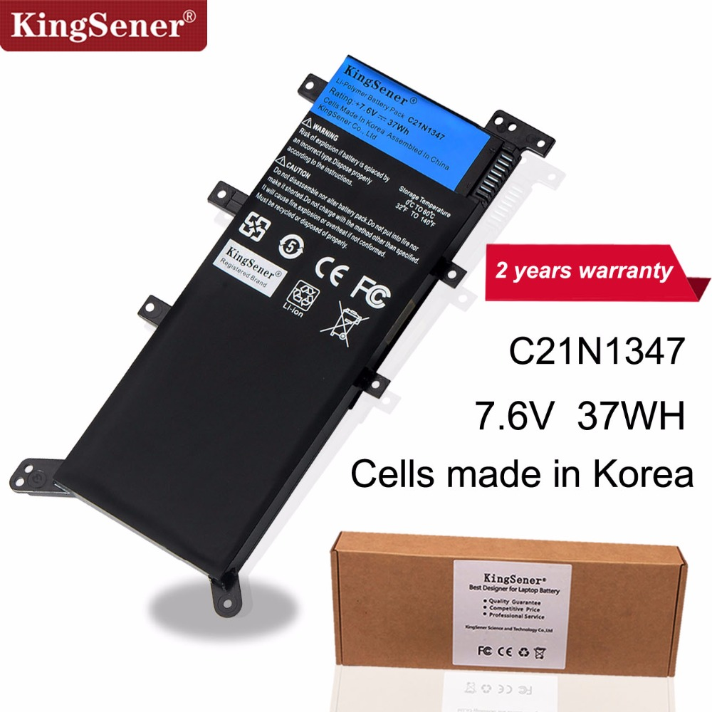 7.5 V 37WH KingSener C21N1347 Nuova Batteria Del Computer Portatile Per ASUS X554L X555 X555L X555LA X555LD X555LN X555MA 2ICP4/63 /134 C21N13477.5 V 37WH KingSener C21N1347 Nuova Batteria Del Computer Portatile Per ASUS X554L X555 X555L X555LA X555LD X555LN X555MA 2ICP4/63 /134 C21N1347