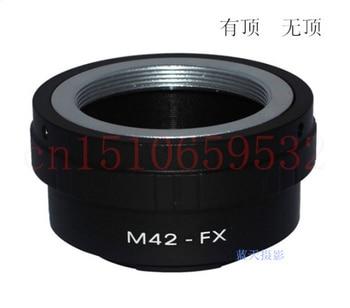 Nueva Pentax M42-FX Tornillo de montaje de lentes para Fujifilm FX Cámara anillo adaptador X-Pro1 X-E1 X-E2