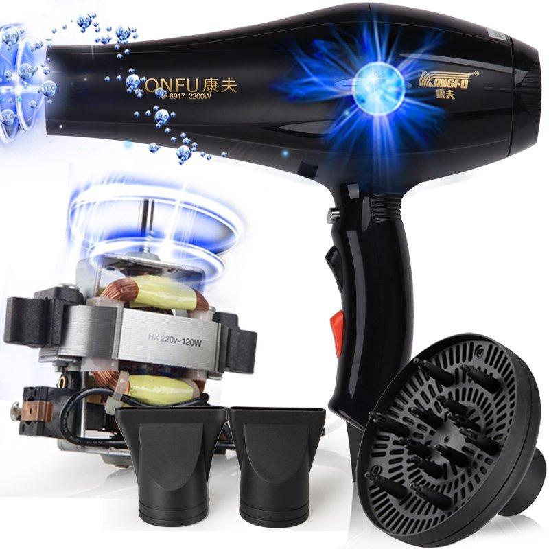 Elettrico Asciugacapelli Professionale per parrucchiere kf-8917 fukuda yasuo Asciugacapelli Ad Alta potenza asciugacapelli 220 V 2200 W