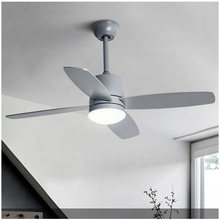 Mordern ceiling fan with light 42 inch home bedroom living room ceiling fan lamp Nordic pendant fan with remote control 220V(China)