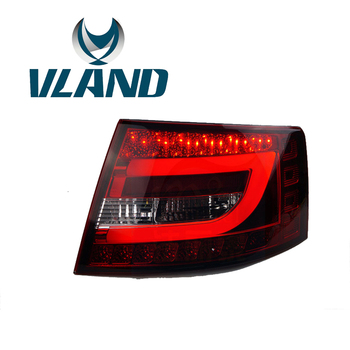 VLAND Factory For Car Taillamp For A6 LED Taillight For 2005 2006 2007 2008 For A6L Rear Light Plug And Play+Waterproof LED LAMP