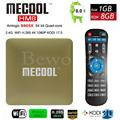 HM8 Mecool S905X Amlogic Android 6.0 Caixa De TV Quad Core 1G/8G KODI 17.0 Wifi VP9 3D 4 K H.265 Smart Media Player VS S912 X96 H96