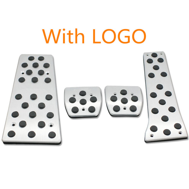 Aluminum Foot Rest Fuel Brake MT pad pedals Fits For 2014 Mazda 6 ATENZA M6 Replacement