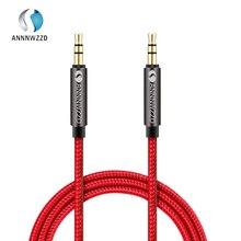ANNNWZZD 3.5mm פרימיום עזר אודיו כבל AUX כבל עבור אוזניות, האייפוד, מכשירי iphone, iPads, בית/רכב מערכות סטריאו