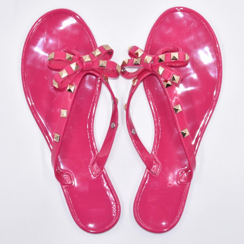 Hot-2017-Fashion-Woman-Flip-Flops-Summer-Shoes-Cool-Beach-Rivets-big-bow-flat-sandals-Brand (5)