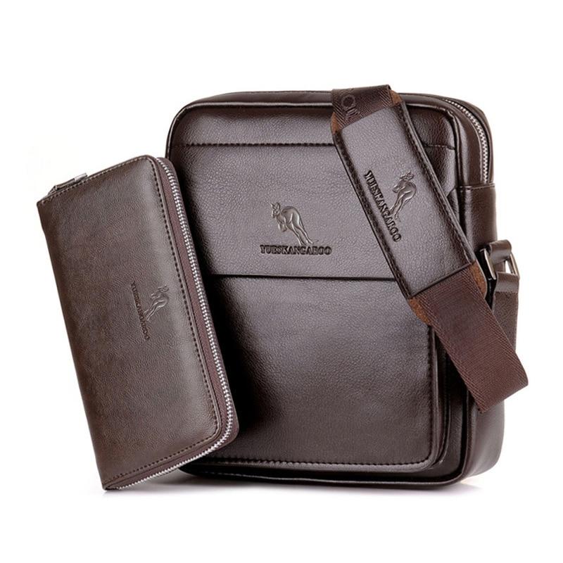 YUES KANGAROO Marka Visoka kvaliteta Casual Men Bag Vertikalna - Torbe - Foto 4